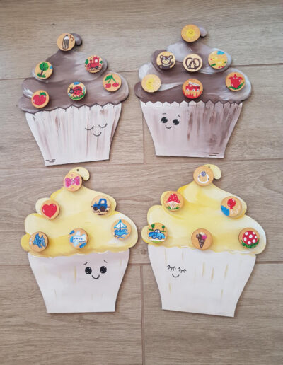 Muffin Napos fatábla